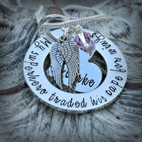 Baby Memorial Jewelry, Baby Memorial Necklace, My Baby My Angel, Baby Bereavement, Loss of Baby, Baby Loss, Miscarriage, Infant Loss