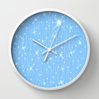 Twinkle Abstract Art Wall Clock