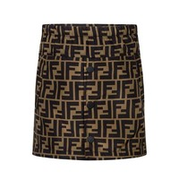 Girls Fendi 'FF' Logo Skirt