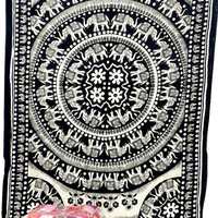 Elephante Tapestries,Tapestry Wall Hanging,Wall Tapestries,Indian hippie Tapestries Wall Decor ,Bohemian Tapestry Mandala Tapestry