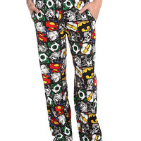 DC Comics Justice League Men's Pajama Pants | Hot Topic