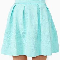 Dream Flower Skirt - Mint