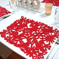 Red Lilly :: Interiors and Gift Boutique Red Enchanted Forest Placemat
