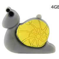 Snail Shaped 4GB USB Flash Drive