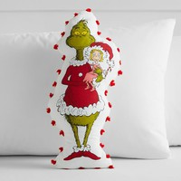 Grinch™ Pom-Pom Pillow