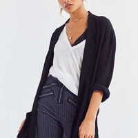 Silence + Noise Open Front Oversized Blazer | Urban Outfitters
