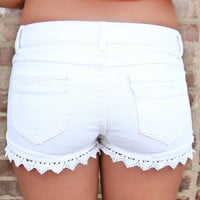 A Taste of Crochet Shorts
