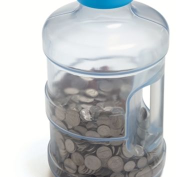 Super Size Giant Coin Counting Bank