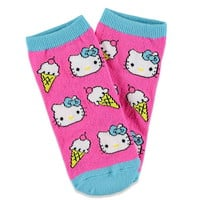 Hello Kitty Ice Cream Socks