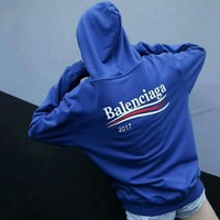 Balenciaga Casual Long Sleeve Top Sweater Hoodies Sweatshirt Tagre™