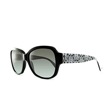 Coach Hc8036F Pamela Black Sunglasses 500211