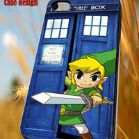 Zelda open tardis police box case for iPhone 4/4S/5/5S/5C Case, Samsung Galaxy S3/S4/S5 Case, iPod Touch 4/5 Case