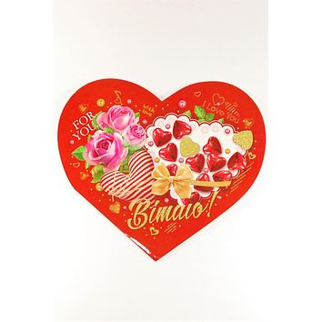 "Valentine card ""For you with Love"""