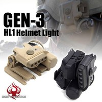 Night Evolution Helmet Light Set Gen3 (White & Red) Hunting Military Tactical Airsoft Paintball(two color)