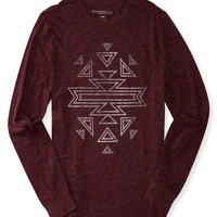 Long Sleeve Southwestern Graphic T