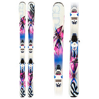 SuperGlide 80 Womens Skis with K2/Marker ERC 11 Bindings 2014