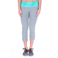 U.S. Polo Assn. Womens Ruched Yoga Pants