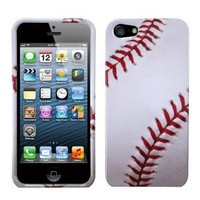 MYBAT IPHONE5HPCIM922NP Slim and Stylish Protective Case for iPhone 5 / iPhone 5S - 1 Pack - Retail Packaging - Baseball-Sports
