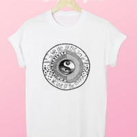 We Live By The Sun Love By The Moon Tee