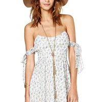 For Love and Lemons Kiss Me Dress - Floral