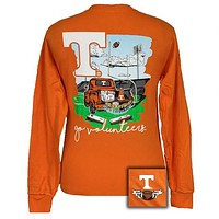 Tennessee Vols Volunteer Knoxville Tailgate & Touchdowns Party Long Sleeve T-Shirt