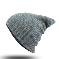 Perfect Stripe Women Men Beanies Winter Knit Hat Cap