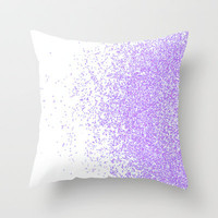 sweet and purple Throw Pillow by Marianna Tankelevich