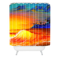 Madart Inc. Tropical Vision 2 Shower Curtain