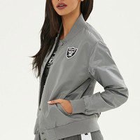 NFL Raiders Bomber Jacket