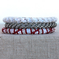 Lily and Laura: Bracelet Set, Silver