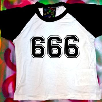 SWEET LORD O'MIGHTY! 666 Raglan