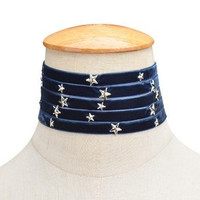 Stars at Night Necklace