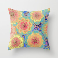 Obsession Throw Pillow by Micklyn