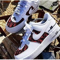 Dior NIKE Air force one Fashion casual shoes-3