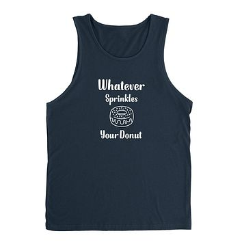 Whatever sprinkles your donut Tank Top