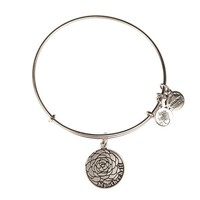 Alex and Ani My Other Half Charm Bangle - Russian Silver