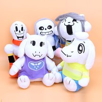 undertale toys Frisk Chara Sans Papyrus Frisk Asriel Napstablook Toriel Temmie Stuffed Doll Plush Toy for kids Christmas Gifts