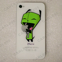 Invader Zim Inspired  Hungry Gir B Color Apple iPhone by carl895