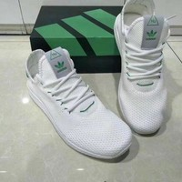 DCCKIJG Adidas NMD HU' Unisex Sport Casual Fly Weave Sneakers Couple Running Shoes