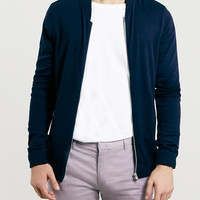 NAVY LIGHTWEIGHT BOMBER JACKET - New This Week - New In