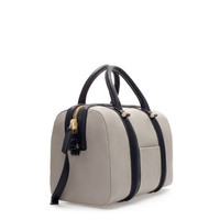 STRUCTURED BOWLING BAG WITH POCKET - Handbags - Woman | ZARA United States