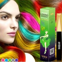 Hair Chalk Color Non-toxic Coloured Stick DIY Hair Dye Crayons Soft Temporary Paint Pastel Hair Contour Styling Pen Fashion Z3