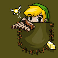 Pocket Link - Gallery | TeeFury