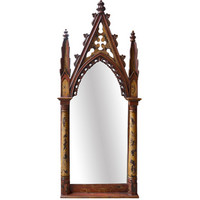 AFD Home Rustic Gothic Floor Mirror
