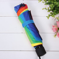 Design Strong Character Stylish Folded Innovative Umbrella [10151685004]