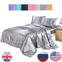Cool Cotton Palace 3pcs Bedding Silk Cotton King Queen Twin size Duvet Cover Bed Sheet Bedlinen Bedclothes Luxury Bedding quilt coverAT_93_12