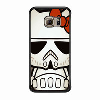Hello Kitty Stormtrooper FOR SAMSUNG GALAXY S6 EDGE CASE *PS*