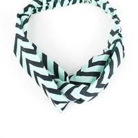 Chevron Twist Turban Collection Headbands