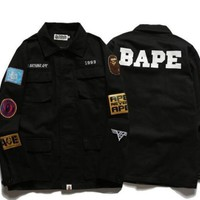 spbest BAPE SHIRT JACKET