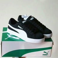 """Puma"" Unisex Casual Fashion Multicolor Canvas Plate Shoes Couple Sneakers"